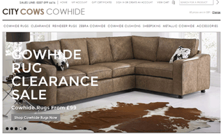City Cows Cowhide