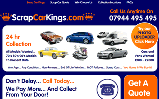 Scrap Cars | Scrap My Car | Scrap Car Kings