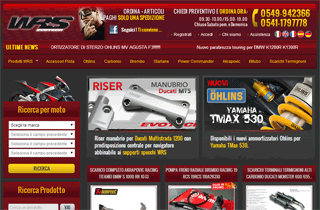 WRS Motorcycles Spare Parts and �hlins suspension,
