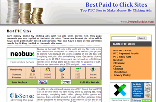 Best Paid to Click Sites