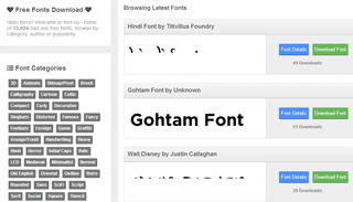 Font.so - Download 13000 Fonts Free