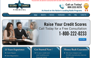 Second Chance Financial Inc.