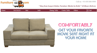 Furniture48.com - Buy Online Furniture in Delhi - Delhi's Online Furniture Marketplace
