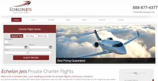 Echelon Jets - Private Charter Flights