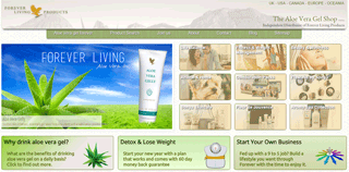 The Aloe Vera Gel Shop | Forever Living