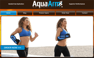 Aqua Arm Hydration Pack for Runners