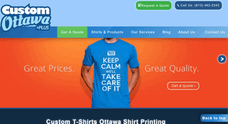 Custom T-Shirts Ottawa