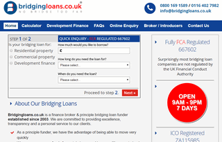 Bridging Loans - Rates starting from 0.59