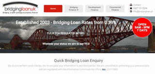 Bridging Loan UK - Apply Online, 7 Days