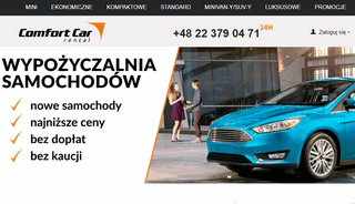 Comfortcar rent a car in Poland