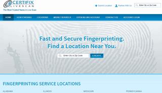 Certifix Live Scan Fingerprinting