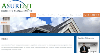 Asurent Property Management Medford