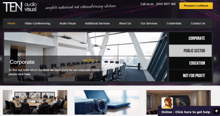 TEN Audio Visual � Audio and Video Conferencing