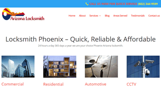 Arizona Locksmith - Phoenix AZ Locksmith
