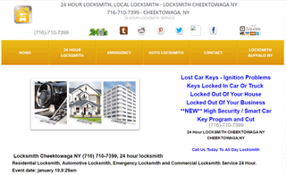 24 HOUR LOCKSMITH, LOCAL LOCKSMITH - LOCKSMITH CHEEKTOWAGA NY 716-710-7399 - CHEEKTOWAGA, NY