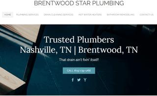 Plumbing Contractor Brentwood, TN