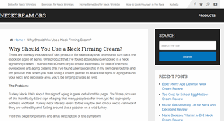 Find the Best Neck Firming Cream
