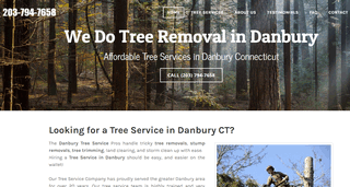 Tree Service Danbury CT