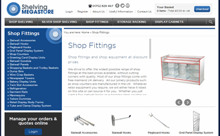 Shop Fittings Suppliers