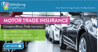 Utility Saving Experts - MotorTrade Insurance Quote Tool