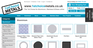 Aluminium Metal 1st Choice Metals