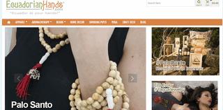 EcuadorianHands.com - Eco Ivory Tagua Jewelry