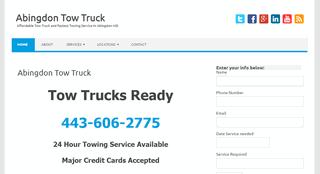 Abingdon Tow Truck