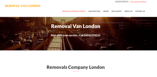 Removal Van London