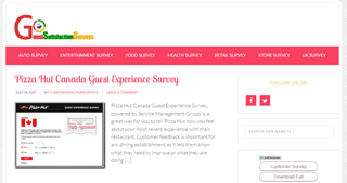 GuestSatisfactionSurveys.Com