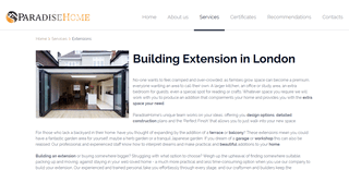 Building Extensions London