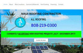Roofing Contractor Maui