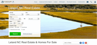 Leland NC Real Estate - Coastline