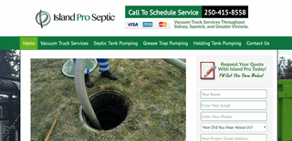 Island Pro Septic - Septic Pumping From Victoria To Sidney BC