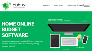 Track Your Finances for Free With Home Accounting Software Cubux Mobile App.