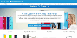 Lockers For Schools, Gyms and Offices