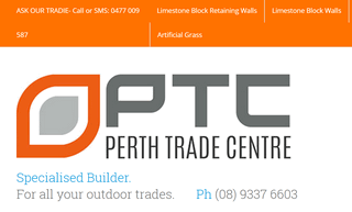 Perth Trade Centre- Landscaping, Artificial Grass, Limestone block walls, Colorbond Fencing & Gates and more