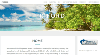 Priford Website Services