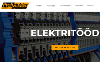 Elektritood Tallinnas ja Tartus | Profielekter OU