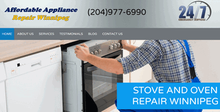 Affordable Appliance Repair Winnipeg