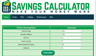 savings account interest
