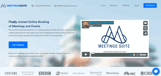 Hotel meeting rooms booking system