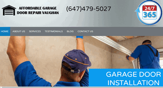 Affordable Garage Door Repair Vaughan