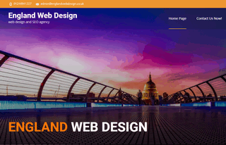 England Web Design