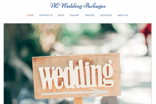 North Carolina Wedding Packages