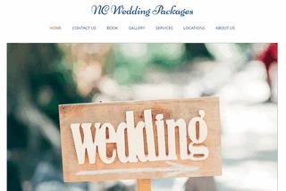 North Carolina Wedding Packages