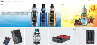 VapeDrive.com Vape- and E-Sig-Related Products Comparison Shopping Engine