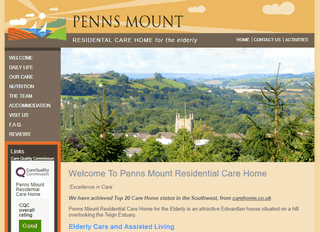 Penns Mount, Residential Care Home