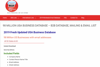 Buy Business Database, Business Listing, Business Email Address, Business Phone Number Lookup, Business Email Lists