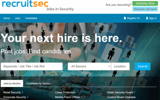 Advertise Security Vacancies