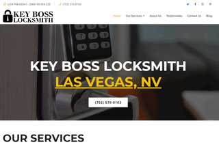 KEY BOSS LOCKSMITH LAS VEGAS, NV